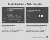 Beschnitt Adobe Illustrator